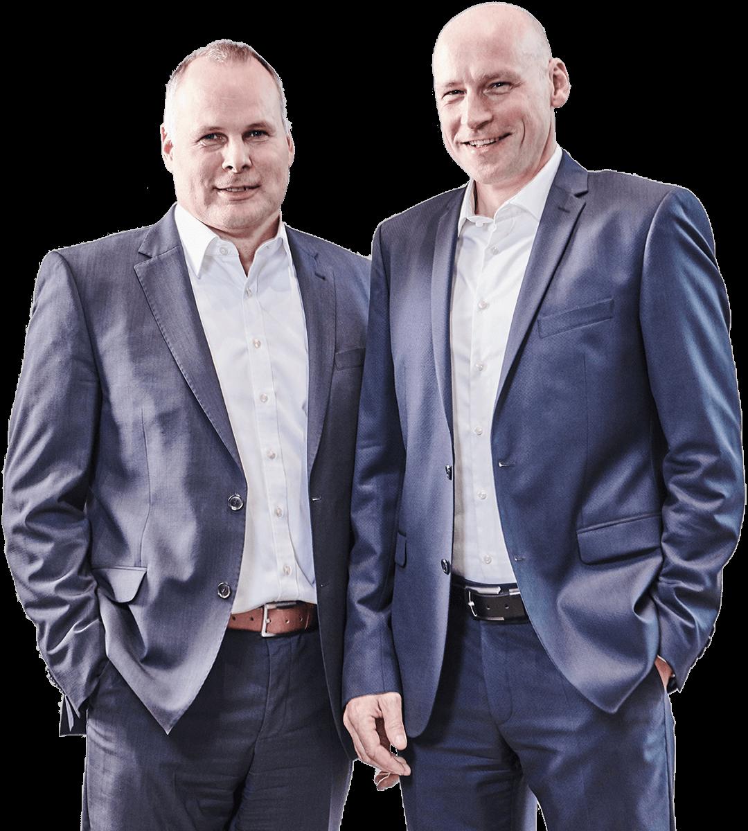 L.B. Bohle Geschäftsführung: Tim Remmert (li.) und Thorsten Wesselmann