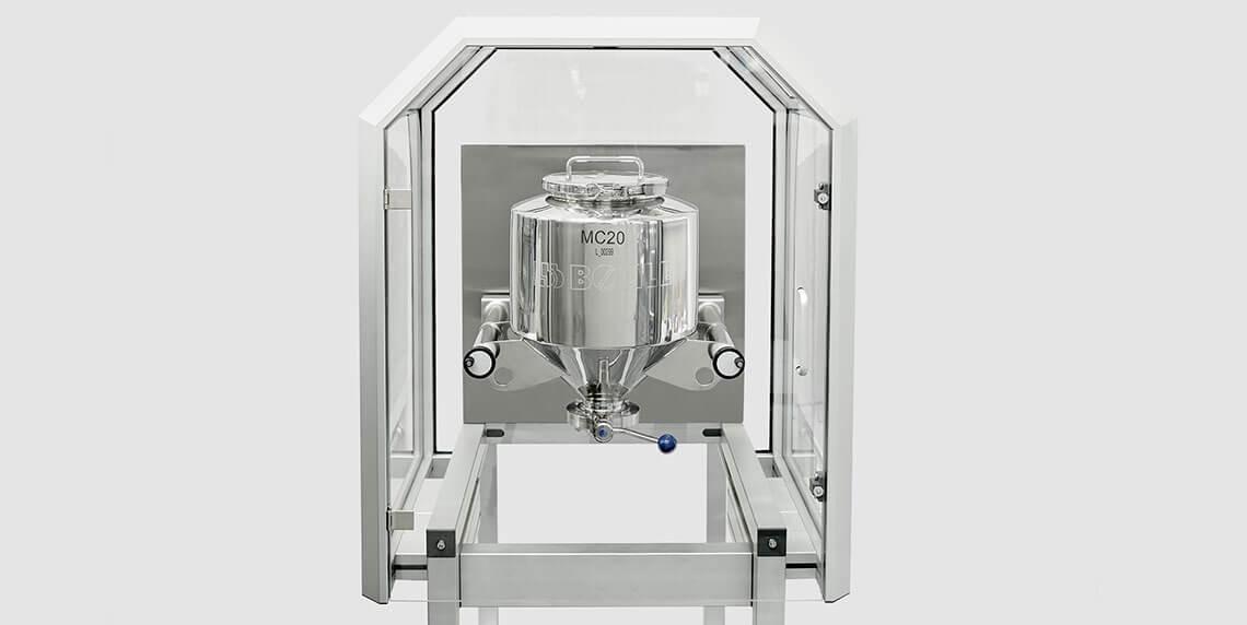 Labormischer für die pharmazeutische Feststoffproduktion